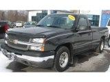 2004 Dark Gray Metallic Chevrolet Silverado 1500 Regular Cab #41238224