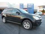 2011 Black Granite Metallic Chevrolet Equinox LT AWD #41237782