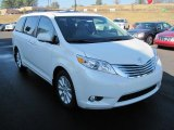 2011 Super White Toyota Sienna Limited #41238018