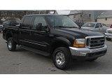 2000 Black Ford F250 Super Duty Lariat Crew Cab 4x4 #41238285