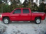 2007 Victory Red Chevrolet Silverado 1500 LT Z71 Crew Cab 4x4 #41238040
