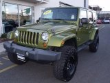 2007 Jeep Wrangler Unlimited Rescue Green Metallic