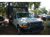 1999 Oxford White Ford F350 Super Duty XL Regular Cab Chassis #41238060