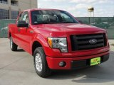2010 Vermillion Red Ford F150 STX SuperCab #41237842