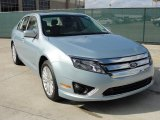 2011 Light Ice Blue Metallic Ford Fusion Hybrid #41237843
