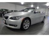 2008 Titanium Silver Metallic BMW 3 Series 335i Convertible #41237659