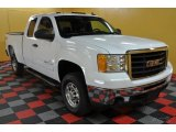 2007 Summit White GMC Sierra 2500HD SLE Extended Cab 4x4 #41238115