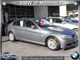 2010 Space Gray Metallic BMW 3 Series 328i Sedan #41237890
