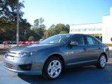 2011 Steel Blue Metallic Ford Fusion SE #41237704