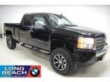 2007 Black Chevrolet Silverado 1500 LT Extended Cab #41237897