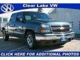 2007 Blue Granite Metallic Chevrolet Silverado 1500 Classic LS Crew Cab #41238530