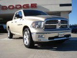 2011 White Gold Dodge Ram 1500 Big Horn Quad Cab #41301082