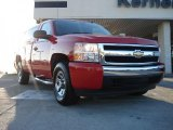 2007 Victory Red Chevrolet Silverado 1500 LS Regular Cab #41301083