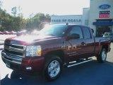2009 Deep Ruby Red Metallic Chevrolet Silverado 1500 LT Extended Cab #41300607