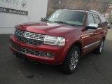 Vivid Red Metallic Lincoln Navigator in 2007