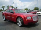 2008 Inferno Red Crystal Pearl Chrysler 300 LX #392656