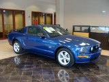 2006 Vista Blue Metallic Ford Mustang GT Premium Coupe #41301131