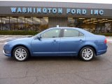 2010 Sport Blue Metallic Ford Fusion SEL V6 #41300901