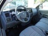2008 Dodge Ram 1500 ST Regular Cab Medium Slate Gray Interior