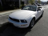 2005 Performance White Ford Mustang V6 Premium Convertible #41300995
