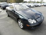 2007 Black Opal Metallic Mercedes-Benz CLK 350 Cabriolet #41300996