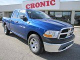 2011 Deep Water Blue Pearl Dodge Ram 1500 ST Quad Cab #41300754