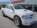2011 Bright White Dodge Ram 1500 Sport Crew Cab #41300755