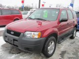 2003 Redfire Metallic Ford Escape XLS V6 4WD #41301306