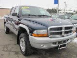 2004 Patriot Blue Pearl Dodge Dakota SLT Quad Cab 4x4 #41301307