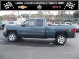 2011 Blue Granite Metallic Chevrolet Silverado 1500 LT Extended Cab 4x4 #41301064