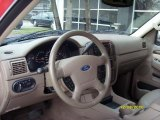 2004 Ford Explorer Eddie Bauer Medium Parchment Interior