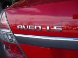 Chevrolet Aveo 2008 Badges and Logos