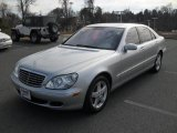 2004 Brilliant Silver Metallic Mercedes-Benz S 500 Sedan #41373622