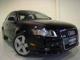 2008 Brilliant Black Audi A4 3.2 Quattro S-Line Sedan #4130422