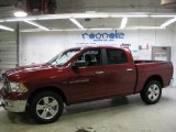 2011 Deep Cherry Red Crystal Pearl Dodge Ram 1500 Big Horn Crew Cab 4x4 #41373352