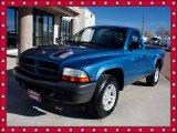 2003 Atlantic Blue Pearlcoat Dodge Dakota SXT Regular Cab #41373386