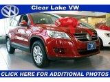 2011 Wild Cherry Metallic Volkswagen Tiguan S #41373812