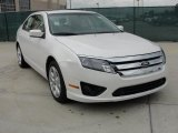 2011 White Platinum Tri-Coat Ford Fusion SE #41404100