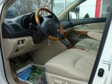 2008 Lexus RX 400h Hybrid Ivory Interior