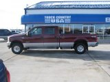2004 Dark Toreador Red Metallic Ford F250 Super Duty XLT Crew Cab 4x4 #41423693