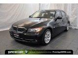 2008 Jet Black BMW 3 Series 335xi Sedan #41423291