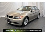 2008 Platinum Bronze Metallic BMW 3 Series 328xi Sedan #41423293