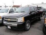 2011 Black Chevrolet Silverado 1500 LT Extended Cab 4x4 #41423476