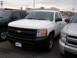 2011 Summit White Chevrolet Silverado 1500 Extended Cab 4x4 #41423477