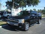 2011 Black Chevrolet Silverado 1500 LT Crew Cab #41423383