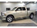 2011 White Gold Dodge Ram 1500 Big Horn Quad Cab #41423511