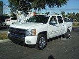 2011 Summit White Chevrolet Silverado 1500 LT Crew Cab #41423386