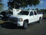 2011 Summit White Chevrolet Silverado 1500 LT Crew Cab #41423390