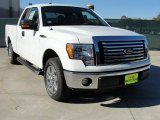 2010 Oxford White Ford F150 XLT SuperCab #41423515