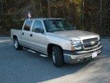 2005 Silver Birch Metallic Chevrolet Silverado 1500 LS Crew Cab #41423894